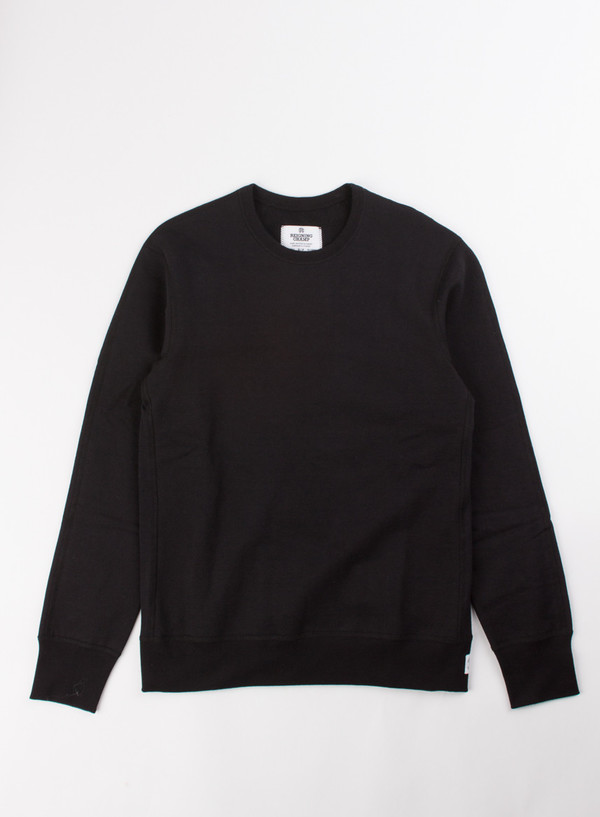 Men's Reigning Champ Heavyweight LS Crew Black
