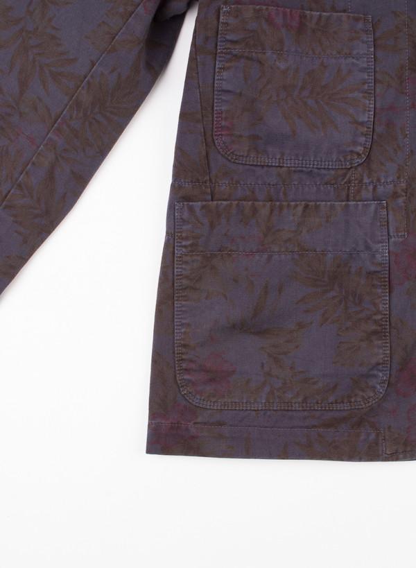 Men's Garbstore Huntsman Blazer Tropical Overdye Print
