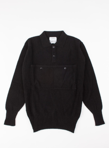 Camo Merckx Jumper Shirt Black