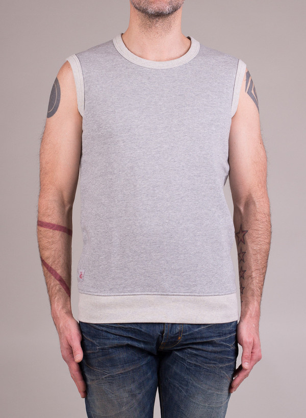 Men's Garbstore Training Vest Light Grey