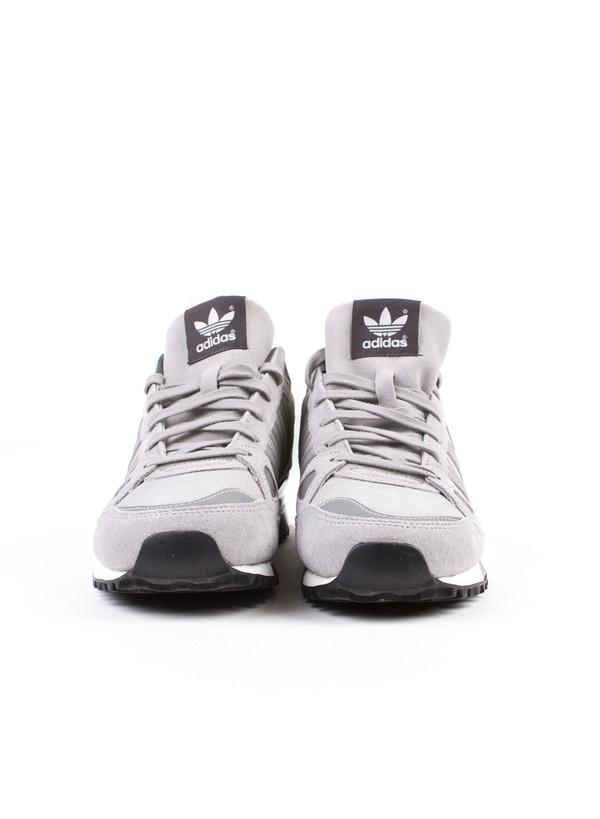 Men's Adidas ZX 750 Grey Suede
