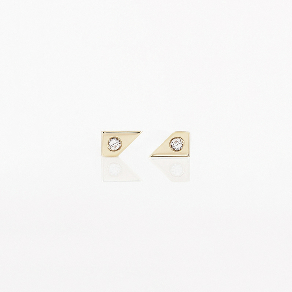 TARA 4779 Oblique Earring Set