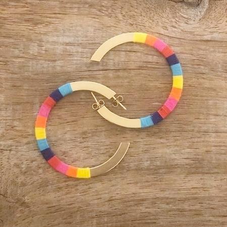 Bluma Project Madison Hoop Earrings