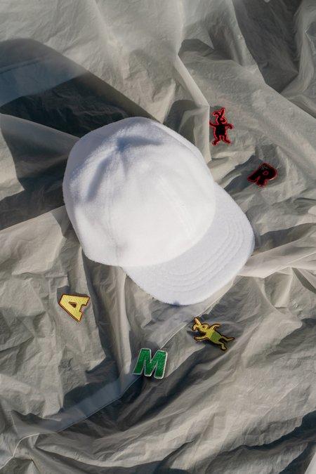 Marni DANCE BUNNY Velcro Patch Baseball Cap - White
