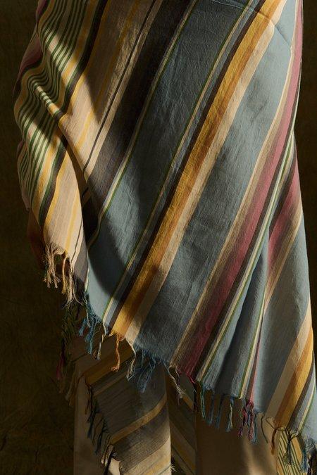 Loewe Embroidery Stripes Scarf
