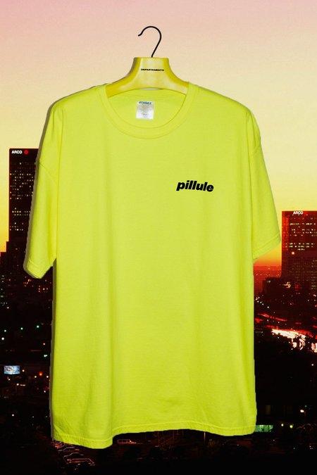4THSEX Pillule Tee - Neon Yellow