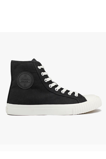 Bata Bullets Classic High Top Sneaker - Black