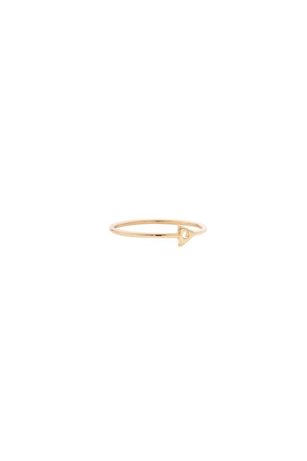 Mociun Mini Triangle Ring 14KYG
