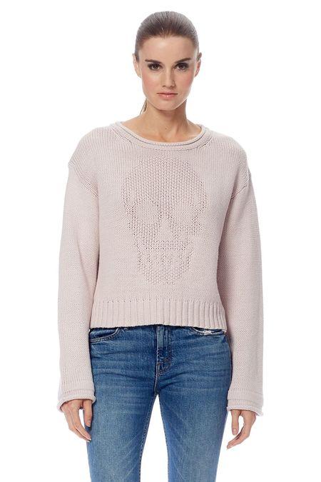 360 Cashmere Bonnie Sweater - Putty