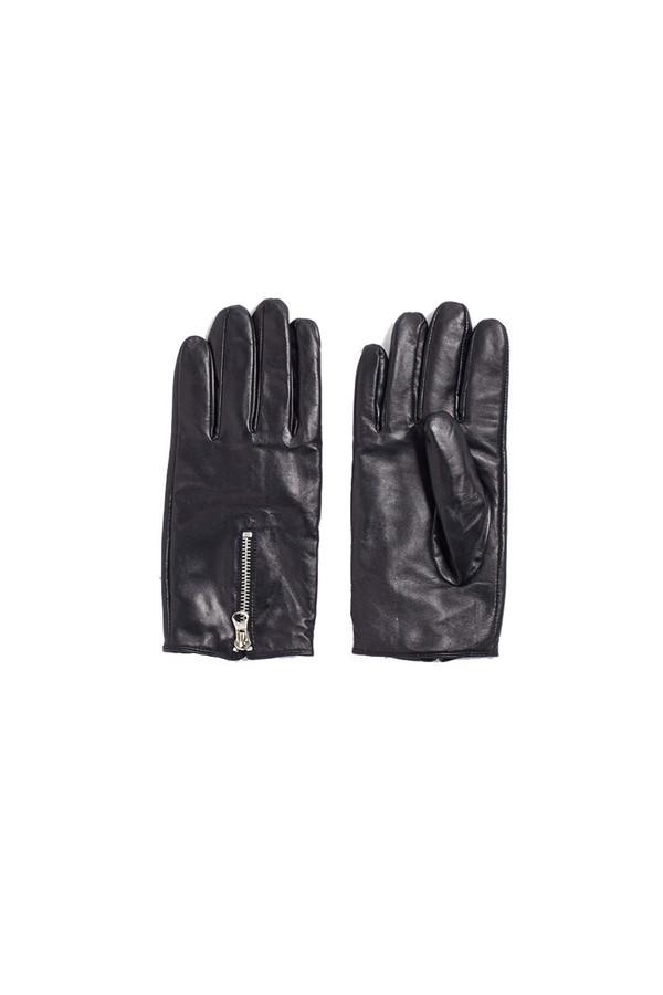Zip Gloves Black