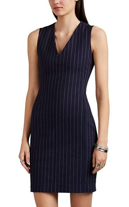 Rag & Bone Lexi Dress - Navy Stripe