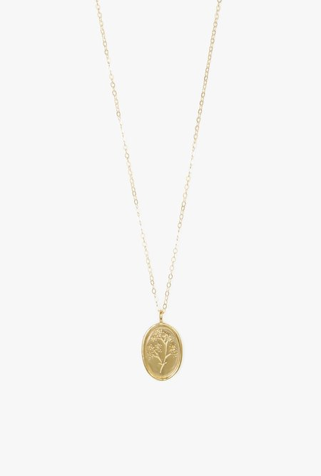 Wolf Circus Fleur Necklace - 14k Gold Plated