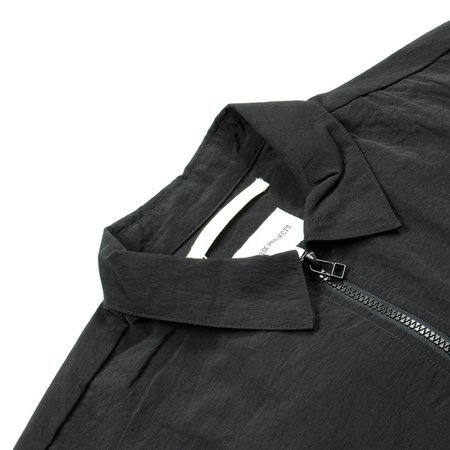 Norse Projects Jens Zip Shirt - Black