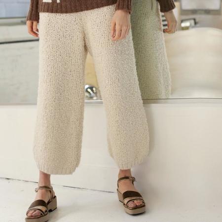 Kordal Textured Trouser - Cream