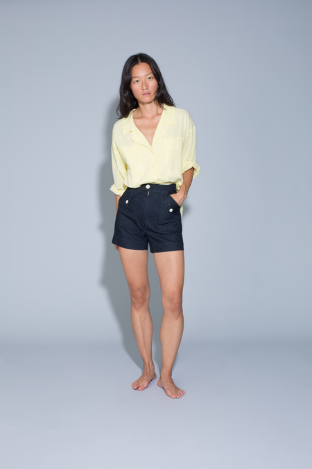 Ilana Kohn Huxie Shorts in Denim