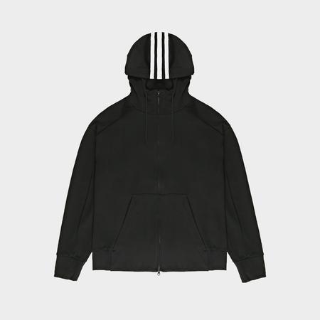 Adidas Signature Graphic Hoodie - Black