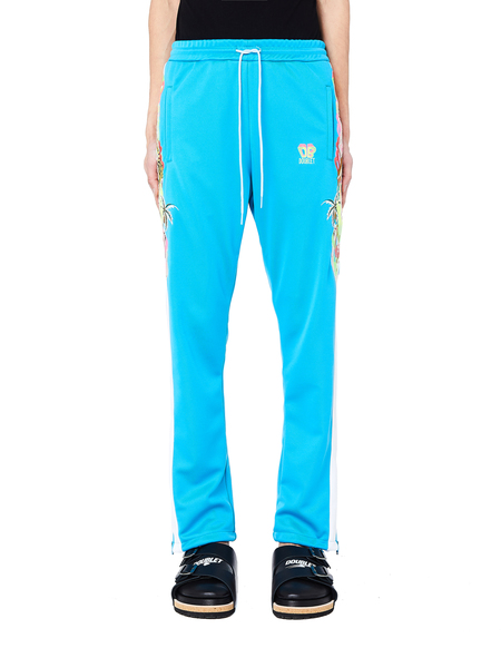 Doublet Chaos Embroidery Track Pants - Blue