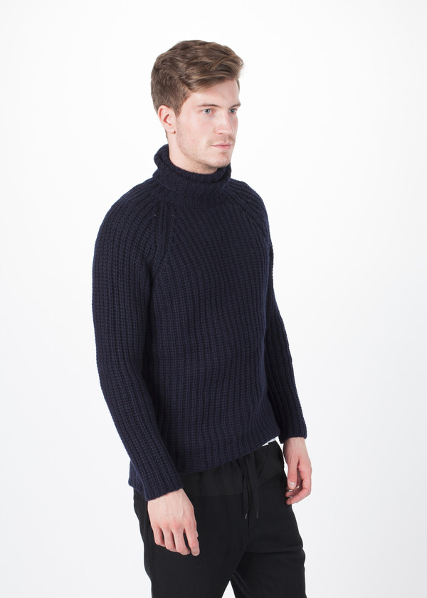 Men's Avant Toi Cable Knit Pullover