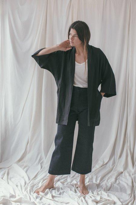 Ozma Linen Short Kimono
