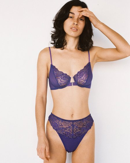Lonely Lilou Underwire Bra - Violet