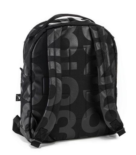 Kids Nununu Numbered Backpack - Black