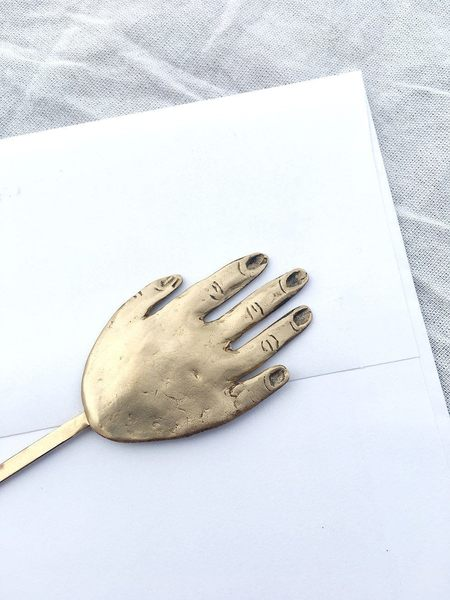 Yu Yu Shiratori Hand Hair Pin - Brass