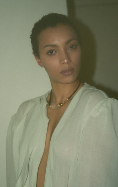 Beatriz Palacios The Hand Necklace