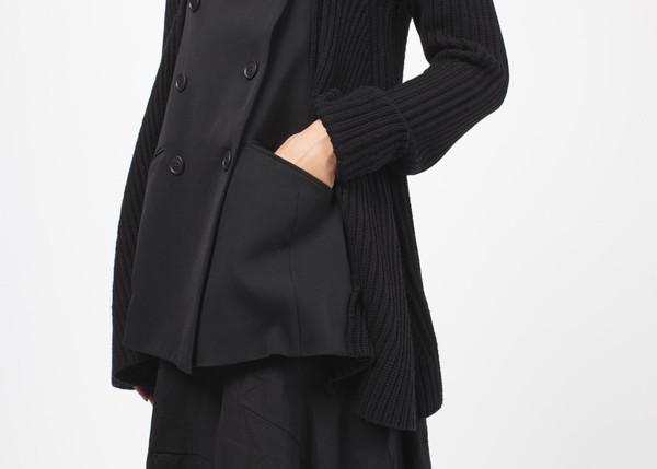 Cross Button Jacket