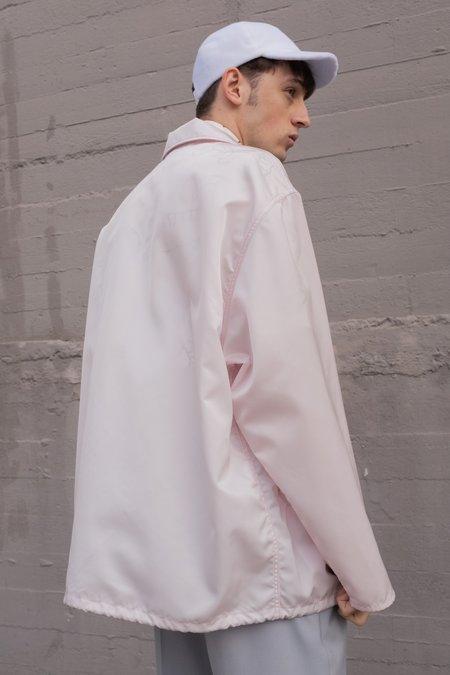 Marni Washed Oversized Nylon Coach Jacket - Pink