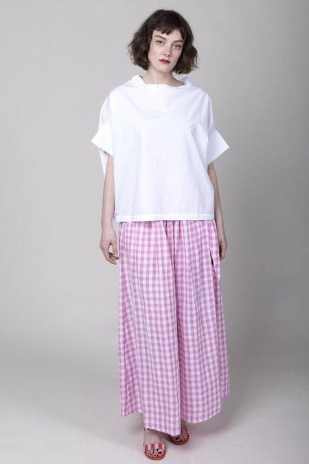 Anaak Devika Button Maxi Skirt - Lilac Check