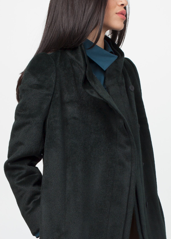 Gianfranco Scotti Double Collar Coat