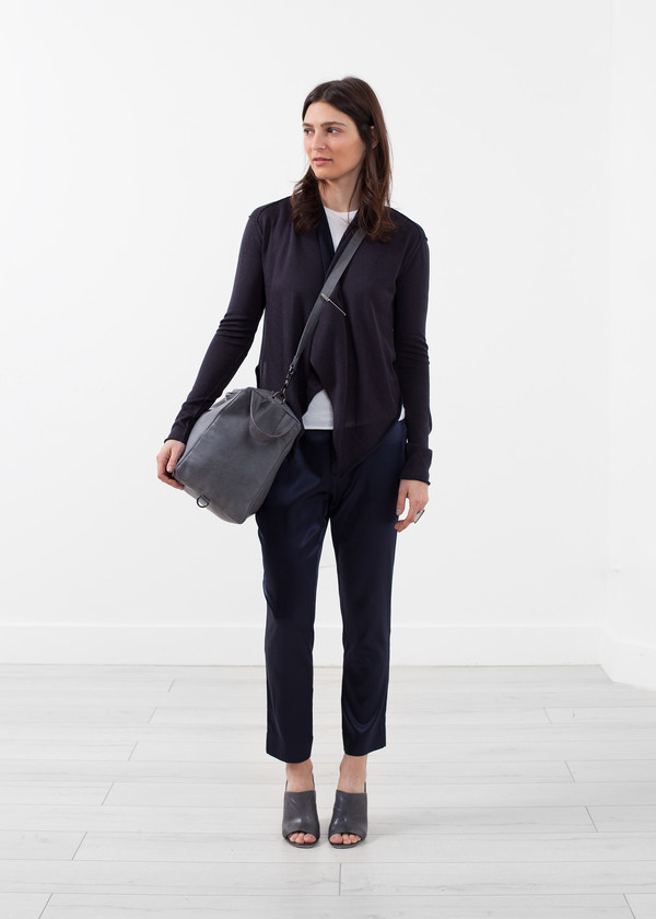 Lars Andersson Draped Neck Cardigan