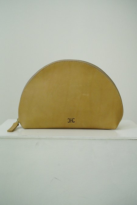 CHC Halo Clutch - cognac