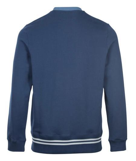 Fred Perry x Raf Simons V-Insert Sweatshirt - Blue