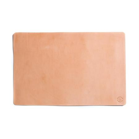 Foxtrot Supply Co. Leather Deskpad - Natural