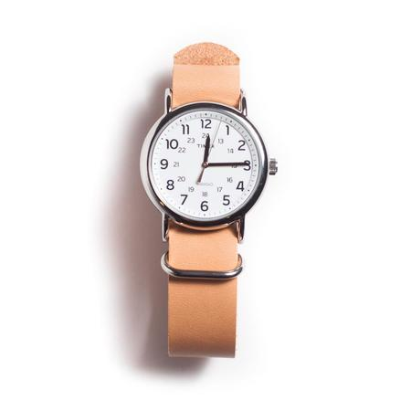 Foxtrot Supply Co. NATO Watchband - Natural