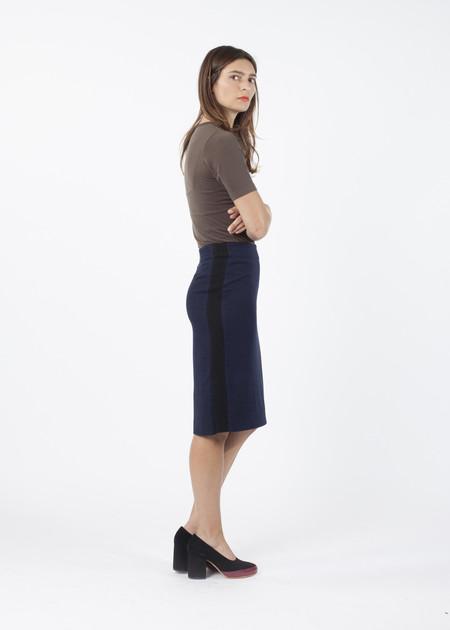 Hache Houndstooth Skirt