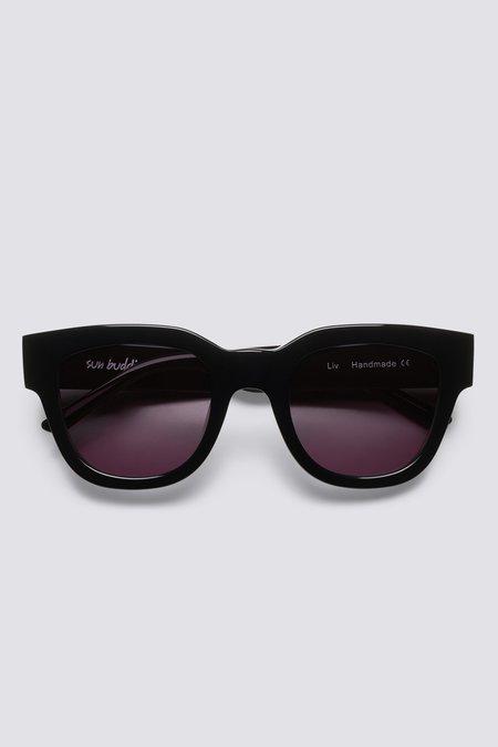 Sun Buddies Acetate Liv Eyewear - Black
