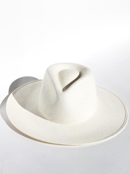 JANESSA LEONE Anouk Hat -  Bleach/Cream