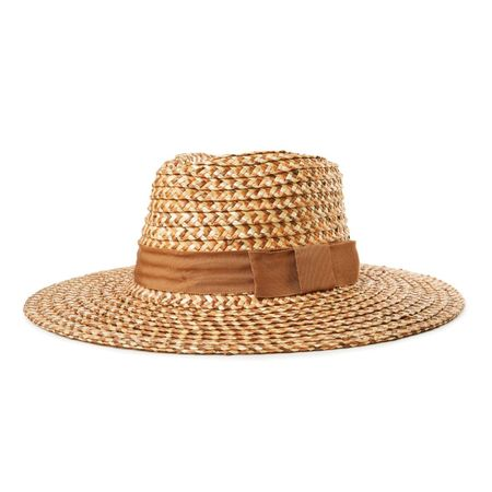 BRIXTON JOANNA HAT - COPPER/NATURAL