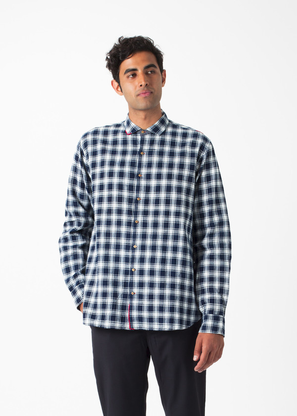 Men's Pero Large Check Shirt
