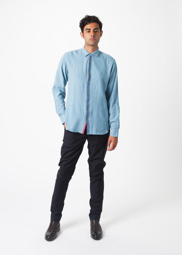 Men's Pero Lightweight Wool Shirt
