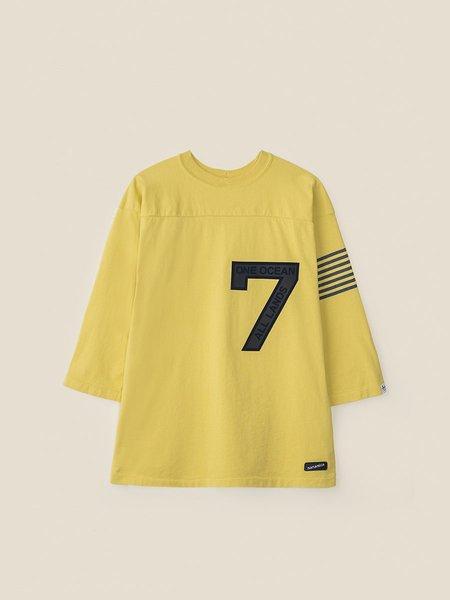 Nanamica Football Tee - Yellow