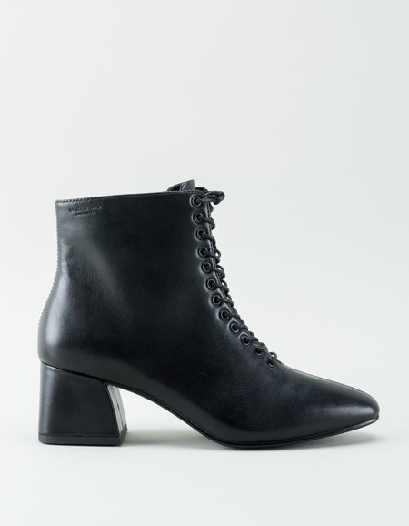 Vagabond Alice Lace-Up Leather Boot - Black