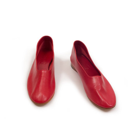 Martiniano Glove Shoes - Red