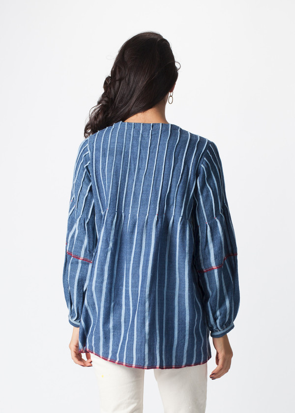 Pero Pinched Top Blouse