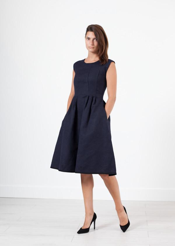 Ter et Bantine Pleated Rita Dress