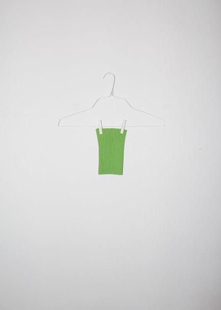 giu giu NONNA Dog Collar - Celery Gold Glitter