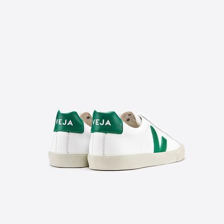 80cefdd69b VEJA Esplar Leather - Extra White Emerald ...