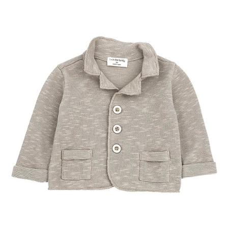 KIDS 1+ In The Family Ernie Jacket - Taupe Brown